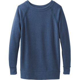 Prana W's Cozy Up Sweatshirt Equinox Blue Heather